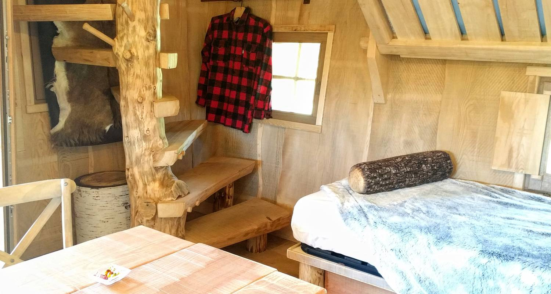 Autre type de location: cabane de trappeur à upie (124402)
