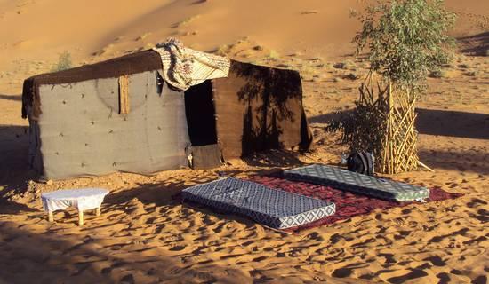 camel trek bivouac foto
