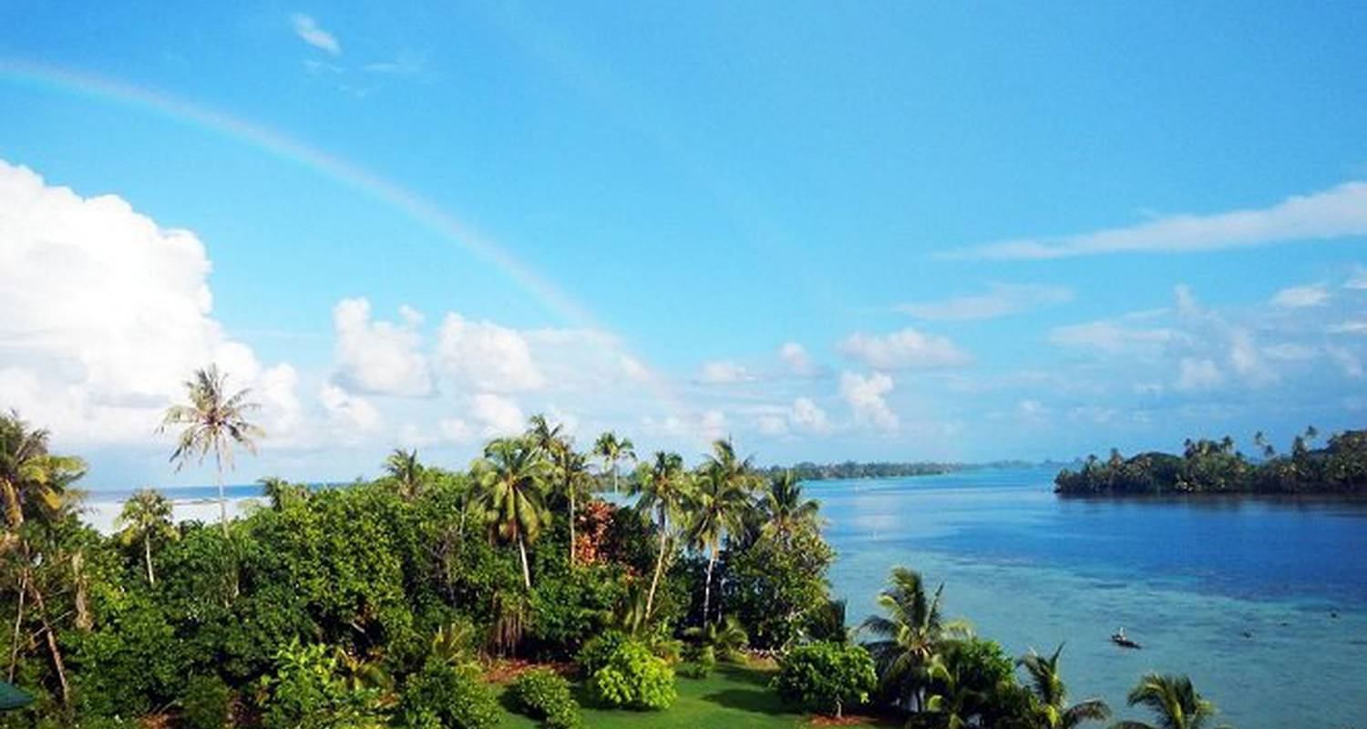Furnished accommodation: huahine location - the bungalow in fare (124458)