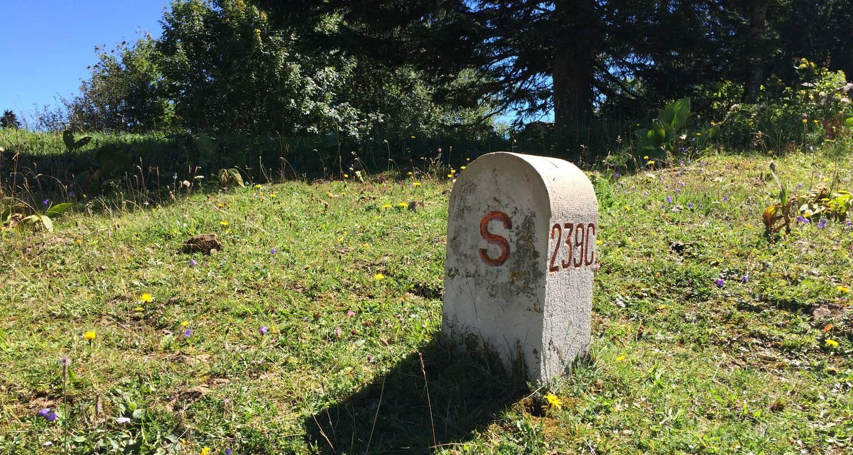 Activity: ballade accompagnée le long de la frontière franco suisse : sur les traces des passeurs de frontière.  in lajoux (124647)