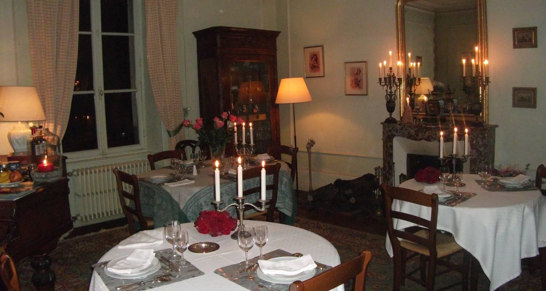 Activity: notre table d'hôtes avec les produits du terroir bio in sainte-cécile (124695)