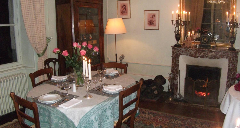 Activity: notre table d'hôtes avec les produits du terroir bio in sainte-cécile (124697)