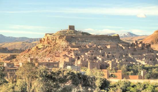 kasbah tifaoute ait ben haddou photo