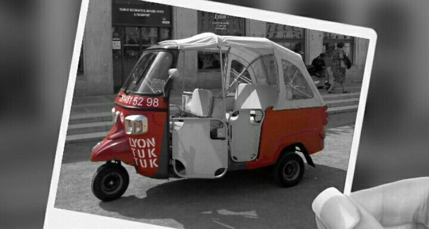 Activity: visite guidée de  lyon en tuktuk in lyon (125364)