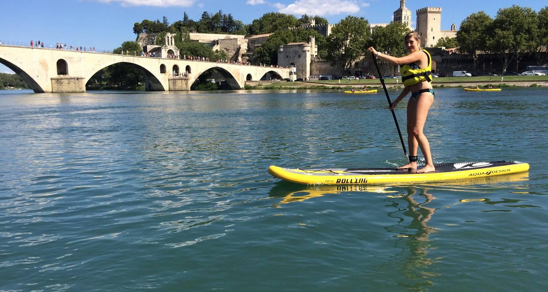 Activity: balade en canoe sous le pont d'avignon in avignon (125403)