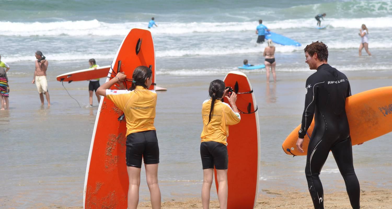 Activity: cour de surf in bayonne (125417)