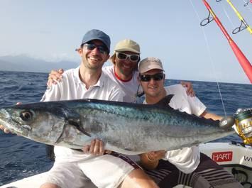 Pêche sportive en mer