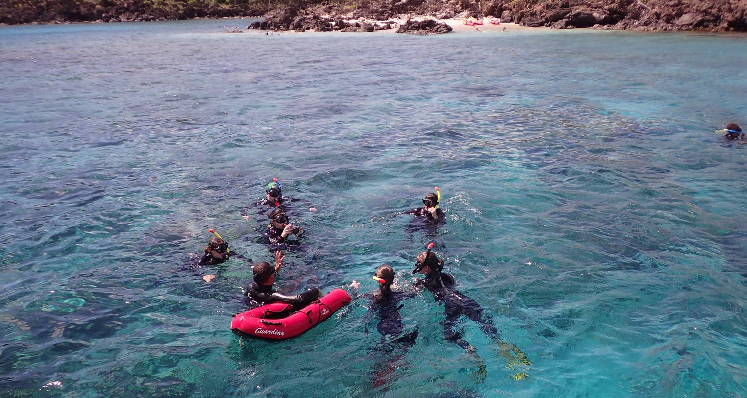 Activity: snorkeling guided tour in pointe-noire (125443)
