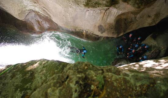 Canyoning en Isère photo