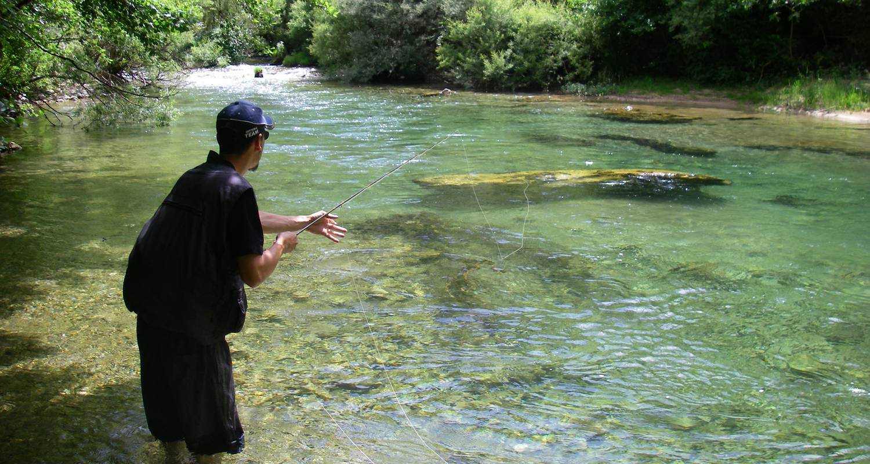 Activity: pêche à la mouche in barjac (125689)