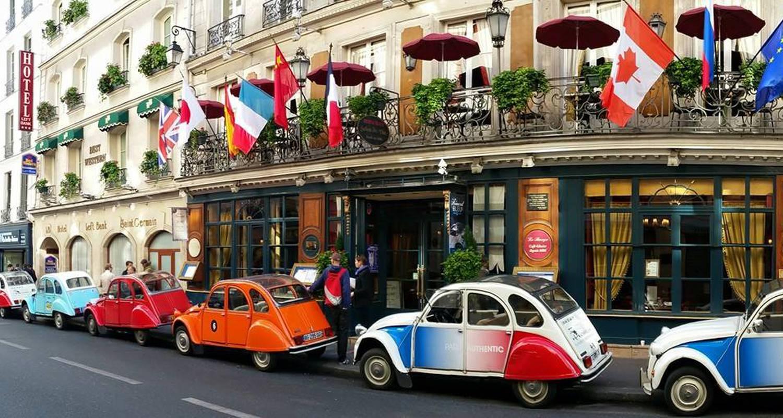 Activité: paris by day en 2cv à paris (125719)