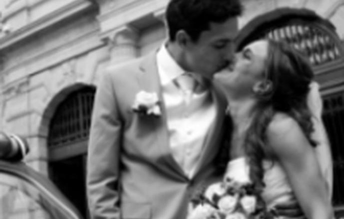 Mariage à paris en 2CV