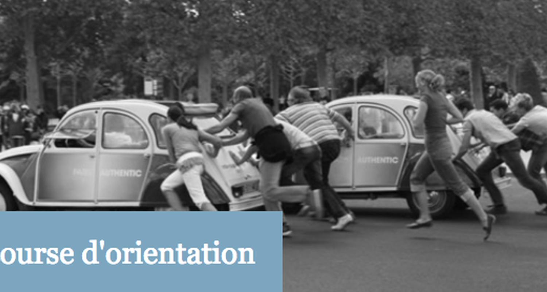 Activité: rallyes et course d'orientation à paris (125728)