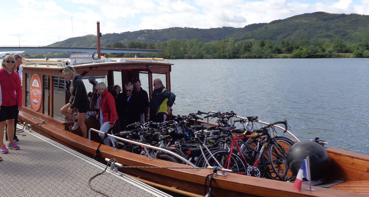 Activity: balades boat n bike in lyon (125733)