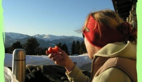 randonnée toute l'année , raquette à neige