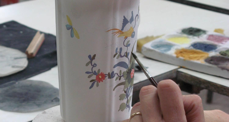 Activité: atelier decouverte decoration sur faience à moustiers-sainte-marie (125796)