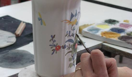 ATELIER DECOUVERTE DECORATION SUR FAIENCE