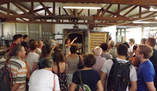 Visite guidée des ateliers de fabrication de faïence
