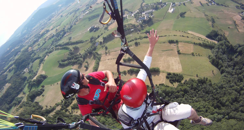 Activité: parapente à lans-en-vercors (125997)
