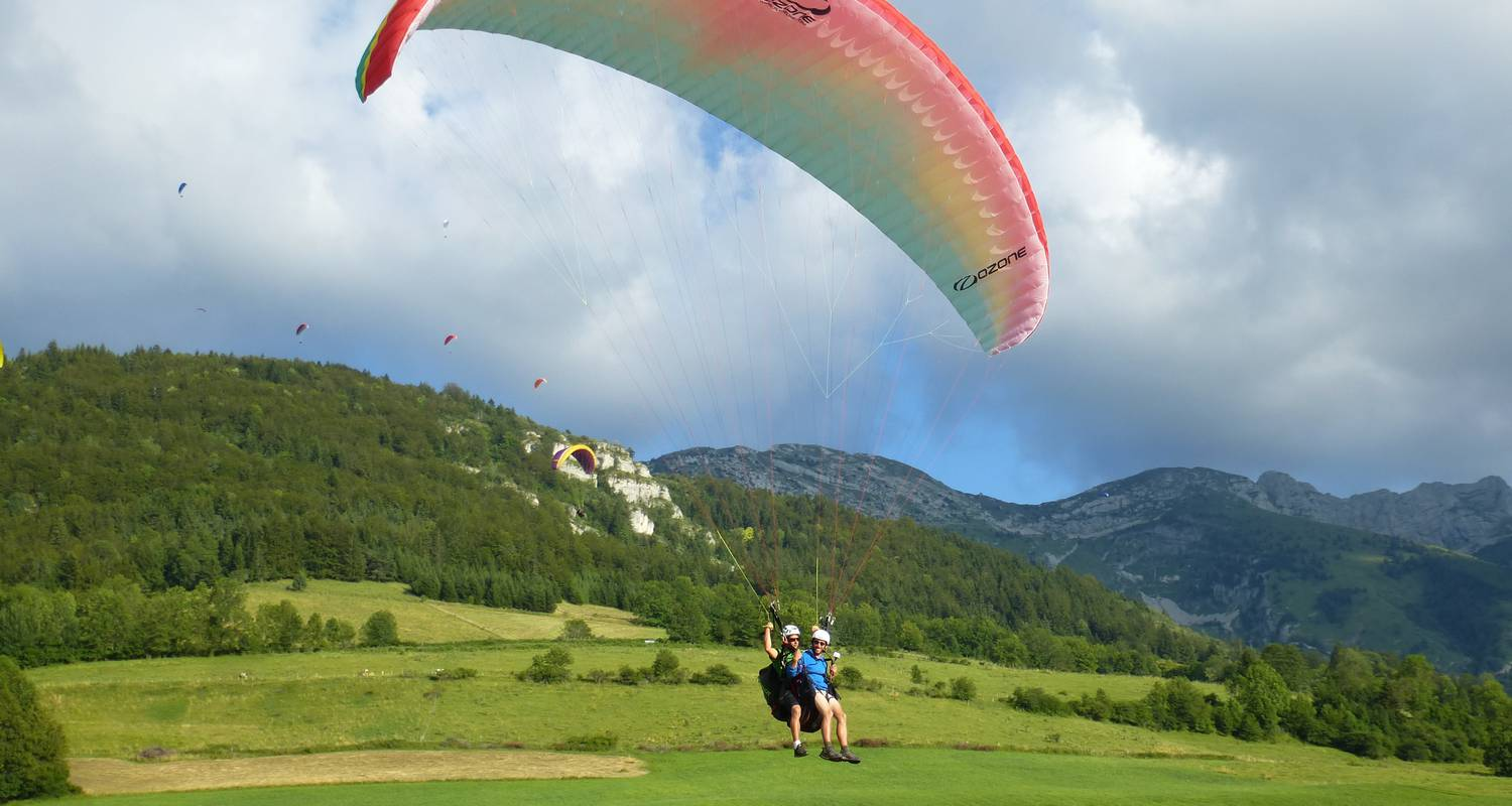 Activity: parapente in lans-en-vercors (125996)