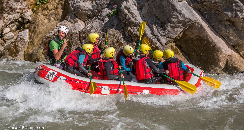 Activité: rafting verdon à castellane (126088)