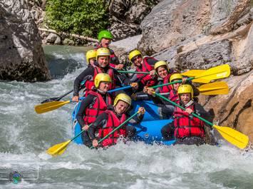 Verdon white water rafting