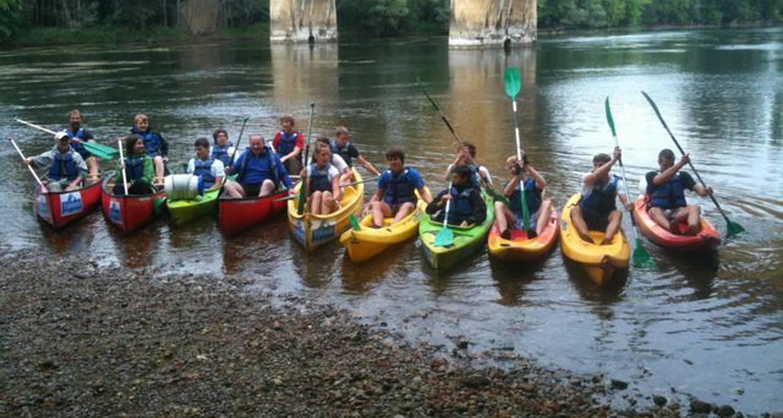 Activité: canoë kayak à groléjac (126137)