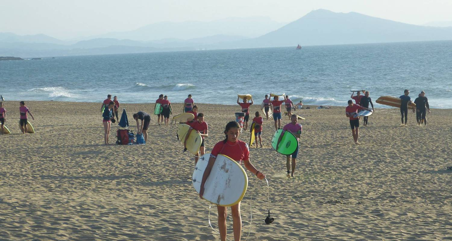 Activity: surf et stand up paddle in anglet (126146)