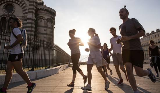 Visite de Marseille en Running