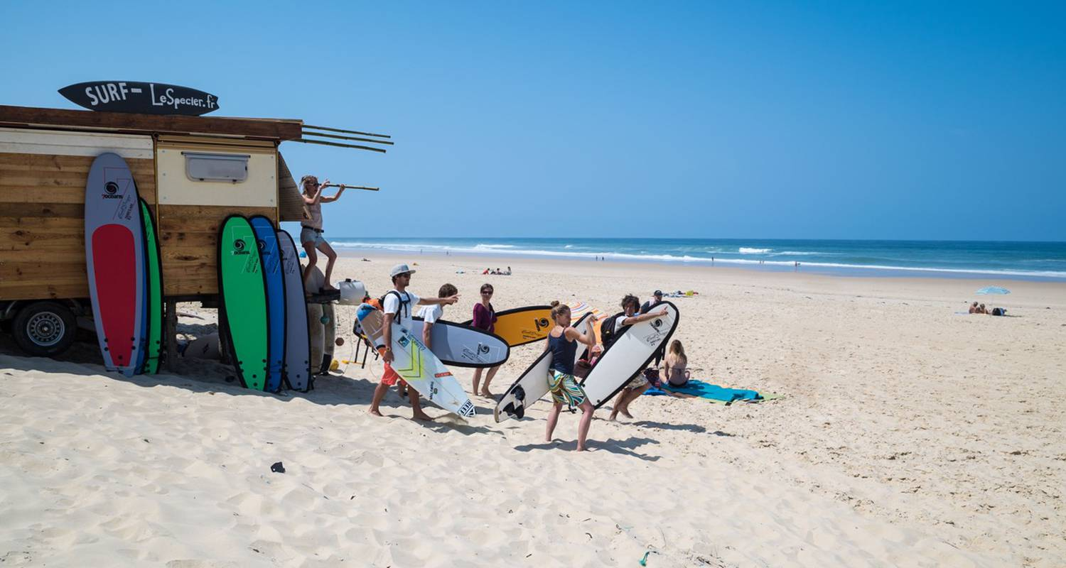 Activity: ecole de surf de lespecier in mimizan-plage (126161)