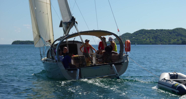 Activité: les îlets du robert à la voile (bateau privatisé) à le robert (126176)