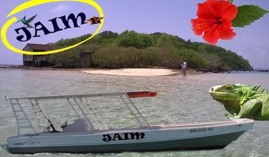 Randonée en bateau, visite des îlets et des fonds blancs