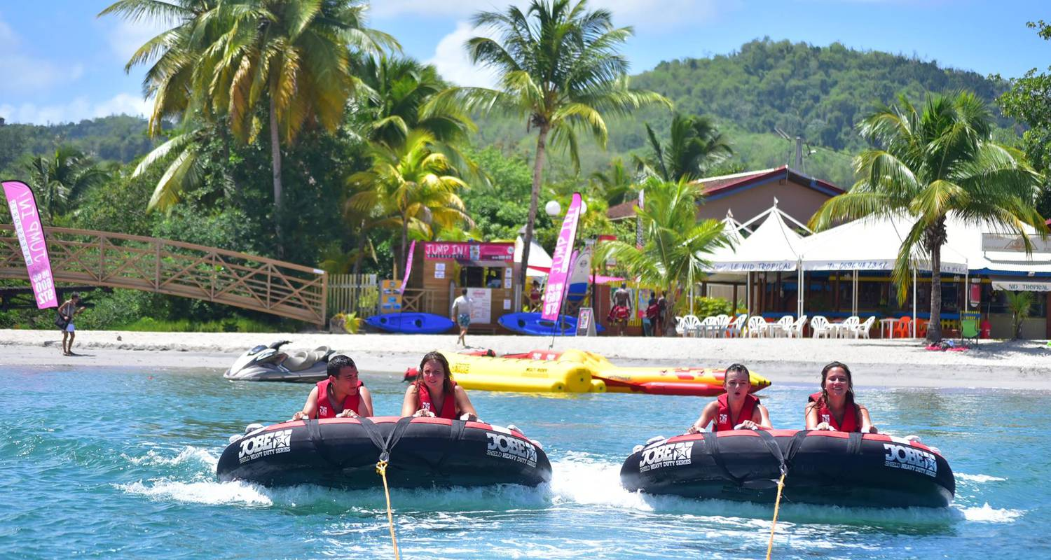 Activity: jetski, flyboard, donuts, sofa, banana rides, kayak, paddle - anse à l'ane, martinique in les trois-îlets (126185)