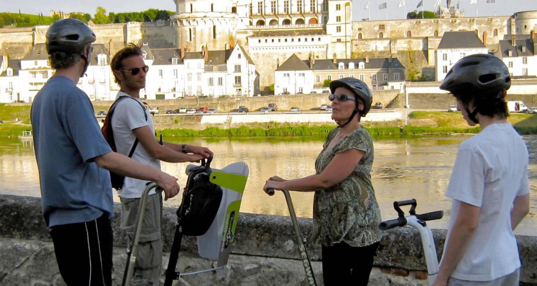 Activité: visite d'amboise en segway à amboise (126200)