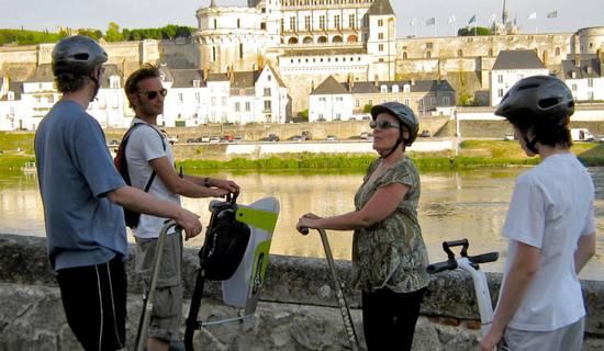 Visite d'Amboise en Segway