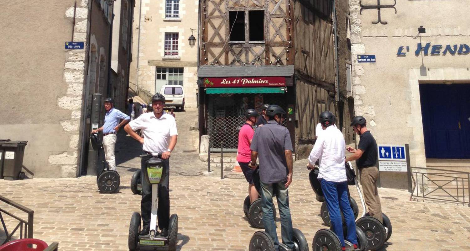 Activity: visite de blois en segway in blois (126203)