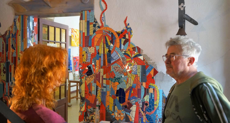 Activité: stages de peinture, sculpture et mosaïque en claudon (126287)