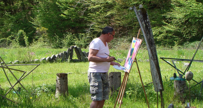 Activité: stages de peinture, sculpture et mosaïque en claudon (126285)