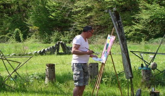 Stages de peinture, sculpture et mosaïque