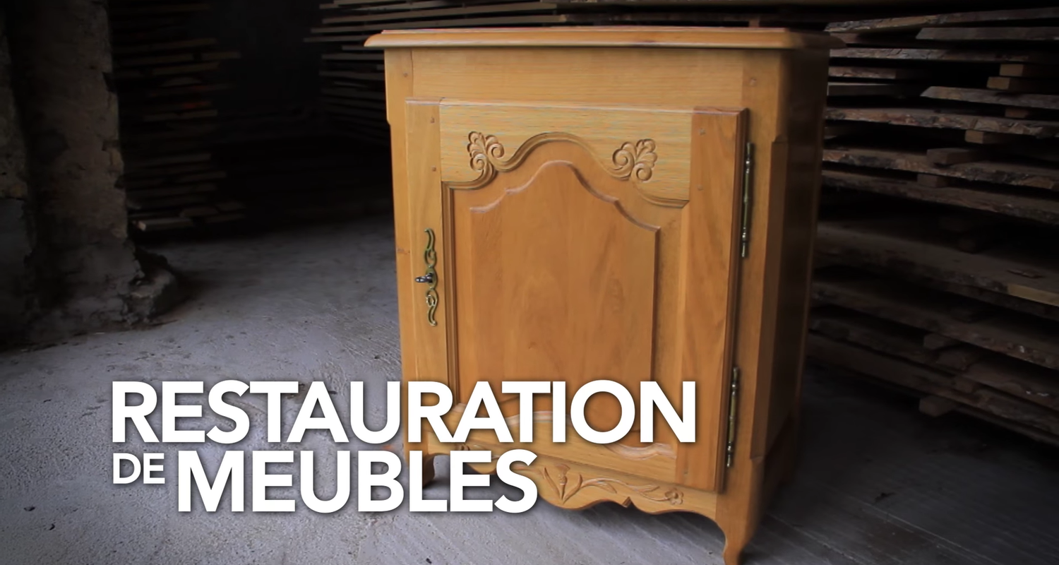 Stage De Restauration Mobilier Massif In Reillon 29682