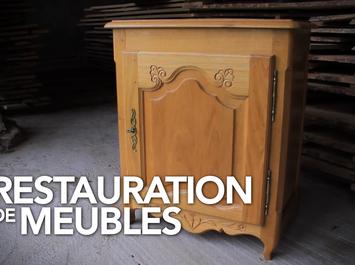 Stage de restauration – Mobilier massif