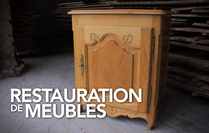 Stage de restauration – Mobilier massif