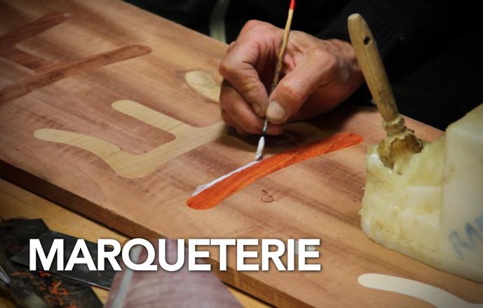 Stage de marqueterie au couteau