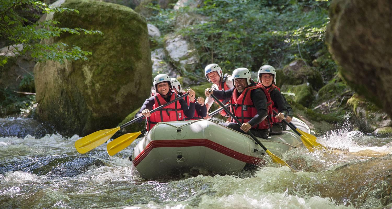 Activité: rafting, kayak, nage en eaux vives, paddle à saint-martin-du-puy (126414)