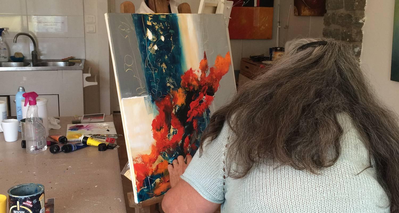 Activité: atelier de peinture - karine olivier à pornic (126422)