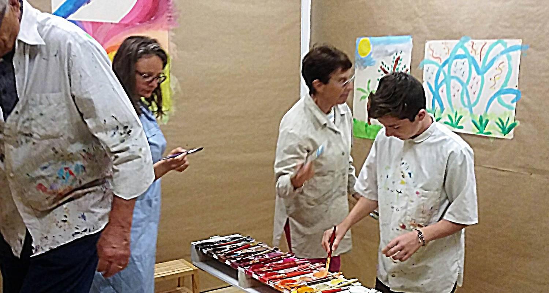 Activité: stages peinture vacances à vichy (126435)