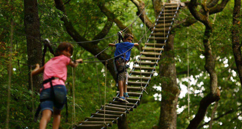 """Activité: acrogivry """"l'aventure en forêt"""" à givry (126460)"""