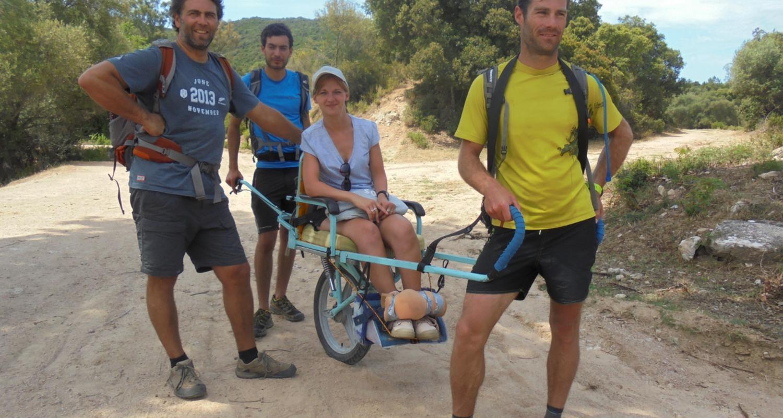 Activity: randonnées joelette secteur ajaccio in porticcio (126462)