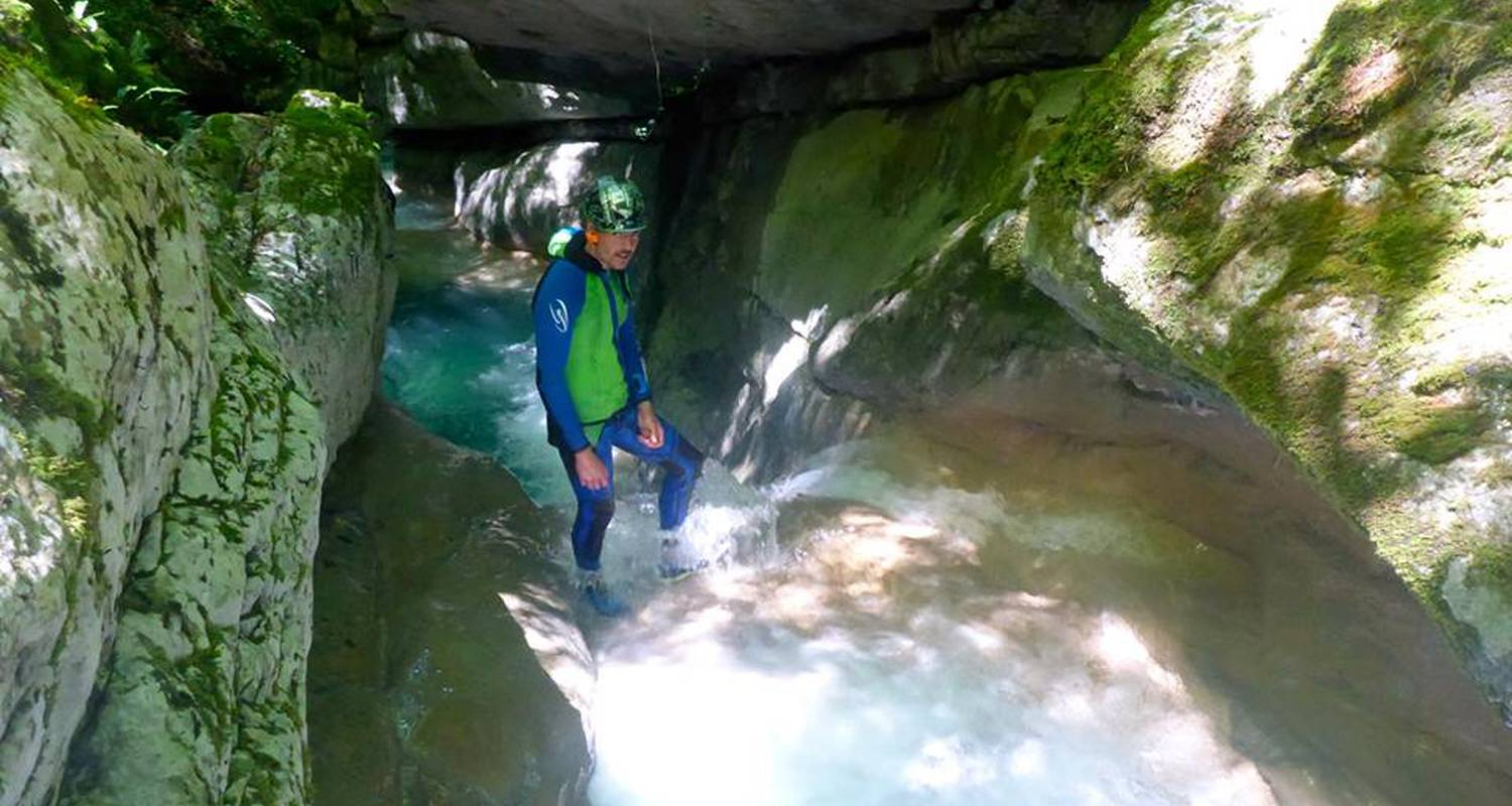 Activity: canyoning in landry (126476)