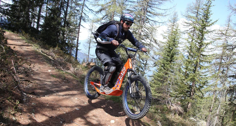 Activité: déval'bike à landry (126478)